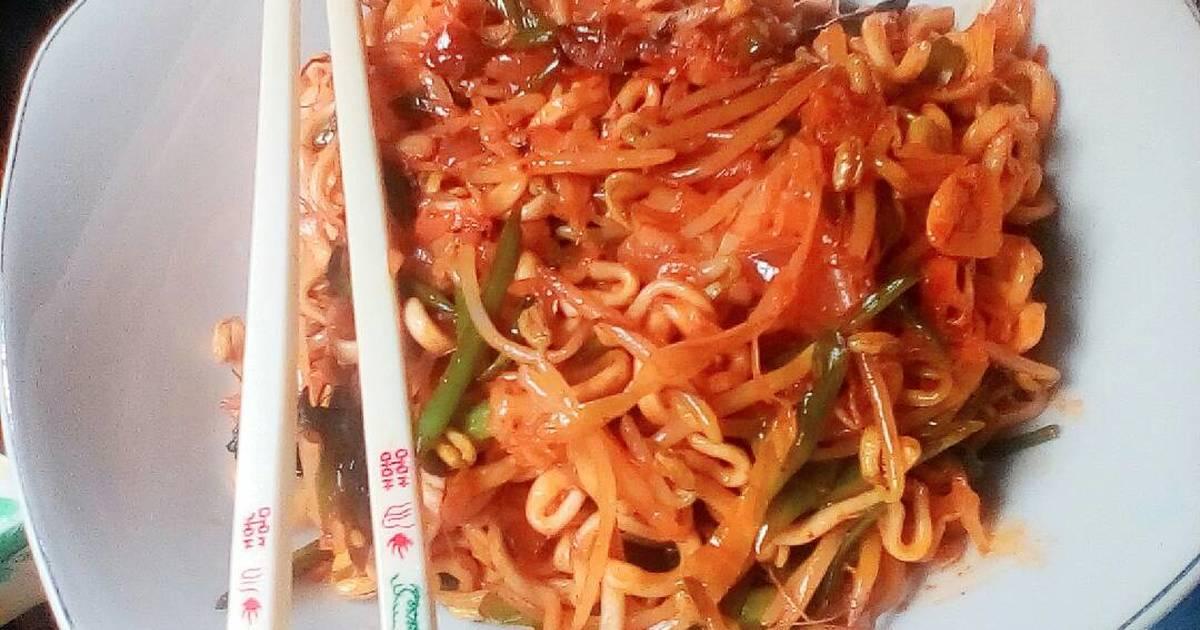 resep samyang ramen vegetables oleh yui shintya   cookpad