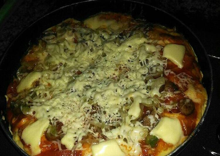 Pizza rumahan yg praktiS