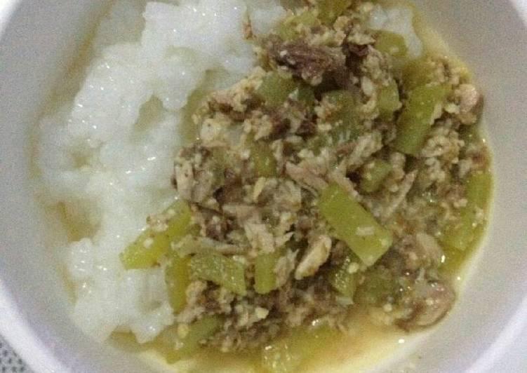 Resep Sayur labu tuna tempe (mpasi 10m+) Dari momici