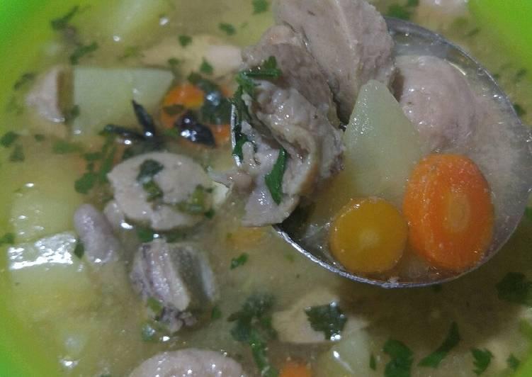 Sup Ayam-Bakso