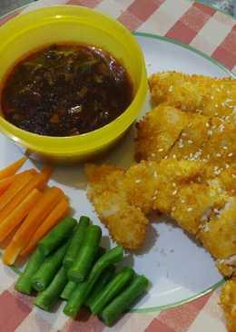 Chicken Katsu saos teriyaki
