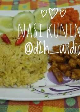 Nasi Kuning Simpel