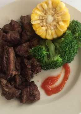 Menu daging sapi untuk diet sehat