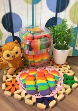 Rainbow Lidah Kucing, Lidah Kucing Pelangi (anti gagal)
