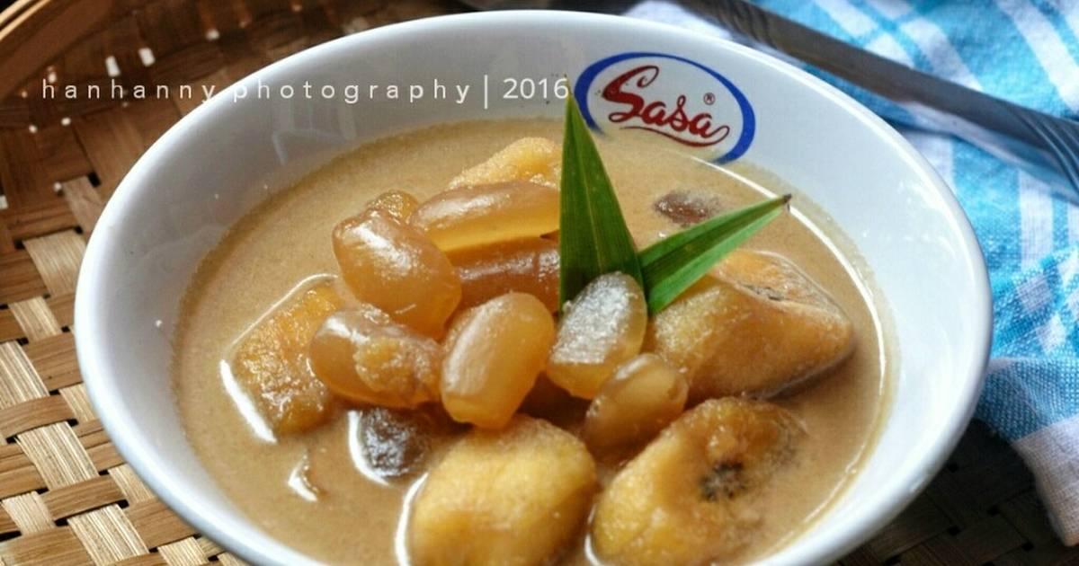 Resep Kolak Pisang Kolang Kaling Wangi Durian