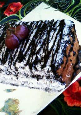 Lamington cake coklat (enak dan lembut)