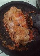 05. Ayam crispy penyet a.k.a ayam geprek