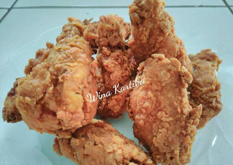 Ayam Tepung Ala KFC / Recheese Kriuk Crispy