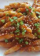 Tteokbokki Homemade Tanpa Gochujang