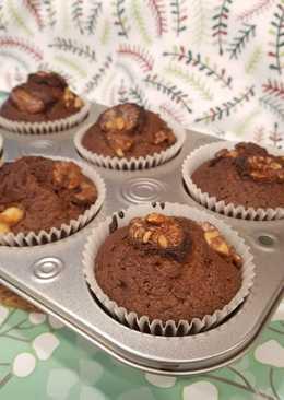 Choco cupcake simple