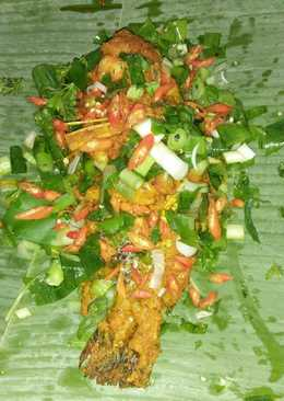 Pepes Ikan Nila Bumbu Rujak #PR_MASAKANBUNGKUSDAUN