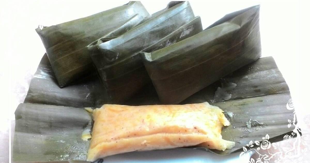 Resep Sumping waluh(nagasari labu)