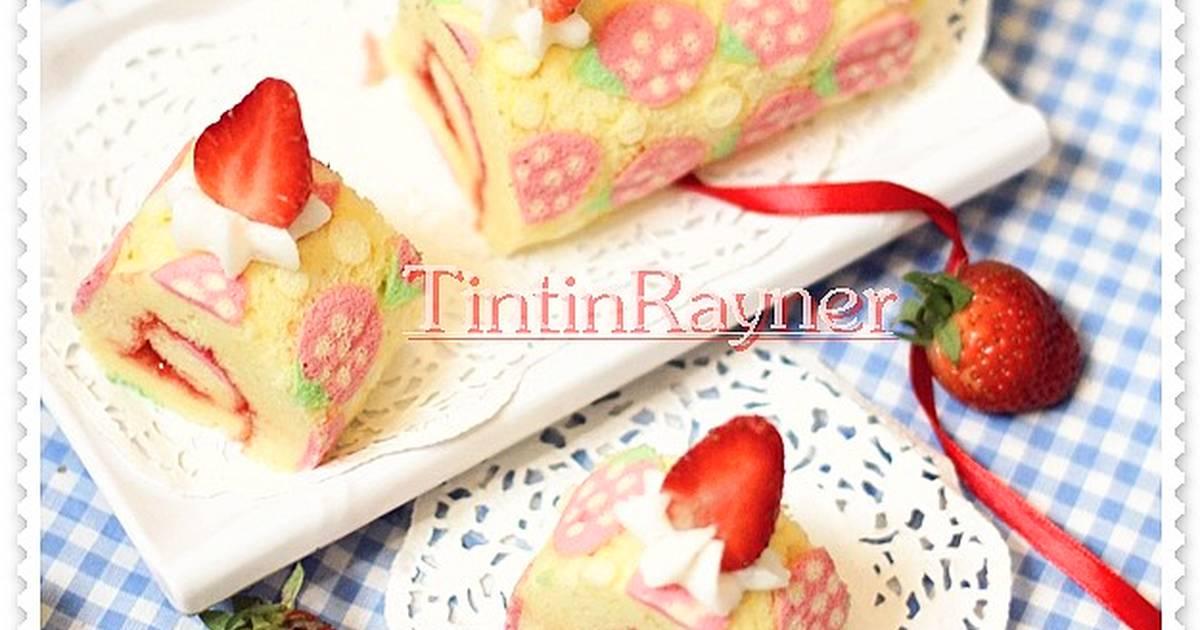 Resep Japanese Roll Cake Kukus ^^