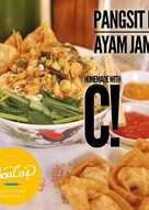 Homemade Pangsit Mie Ayam Jamur