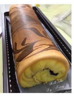 Roll cake aka bolu gulung 😋