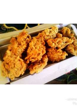 Crispy fried chicken homemade