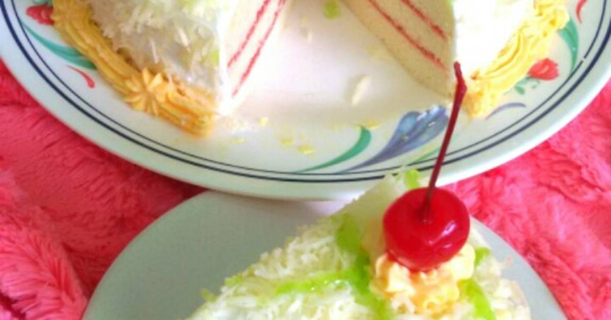 Resep Tart Bolu Keju Putih Telur