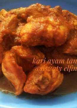 Kari ayam tanpa santan