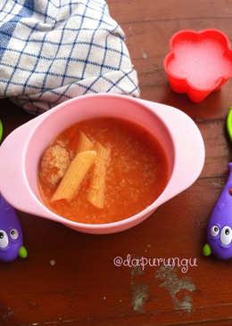 Sup Tomat bisa untuk #mpasi14mos
