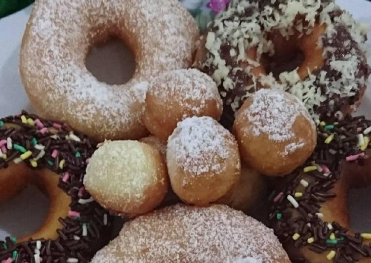 Resep Donut tanpa ulen oleh Aileen Kowaas Resep Donut tanpa ulen Dari Aileen Kowaas
