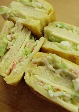 Mayo Crab Sandwich
