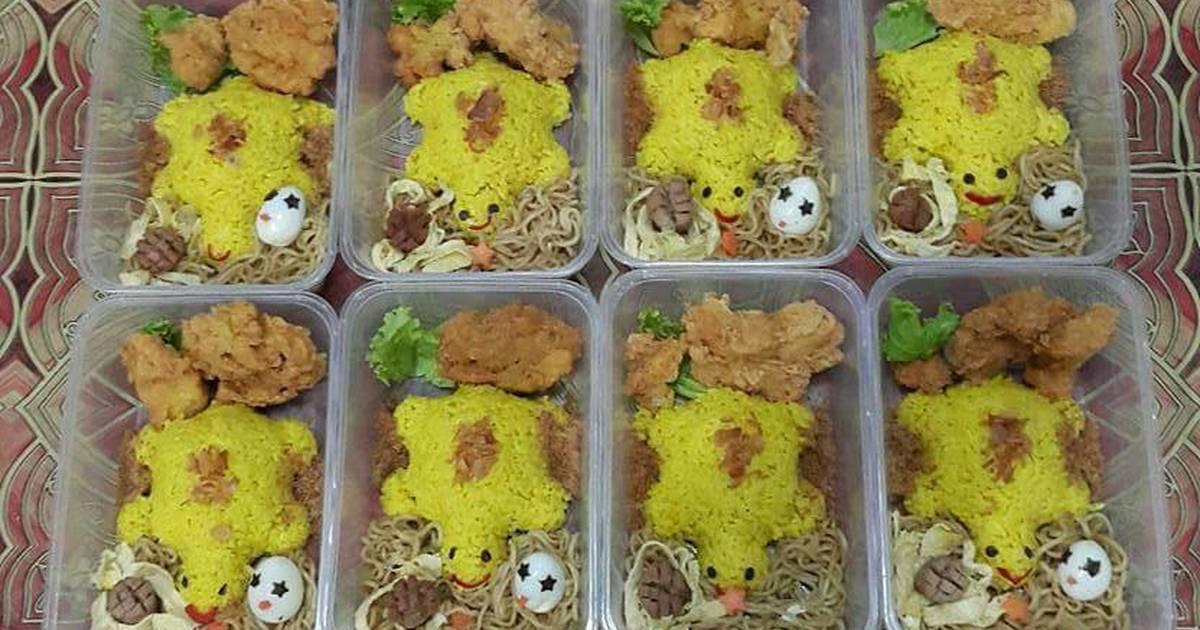 50 resep nasi kuning bekal enak dan sederhana   cookpad