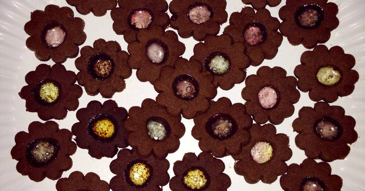 Resep Chocolate Stained Glass Cookies