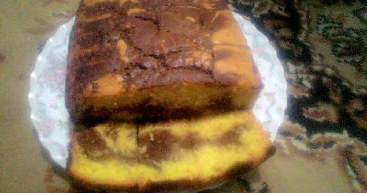 Resep Marmer cake ala ary