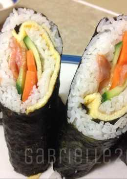 Smoked Salmon Sushi (No Sticky Rice)