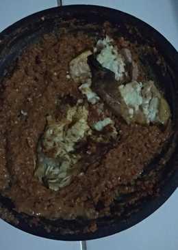 Sambel kacang ikan manyun asap 👩🍳 ga pake ribet,super simple