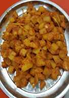 Kentang cabe (teman untuk nasi uduk) VEGETARIAN