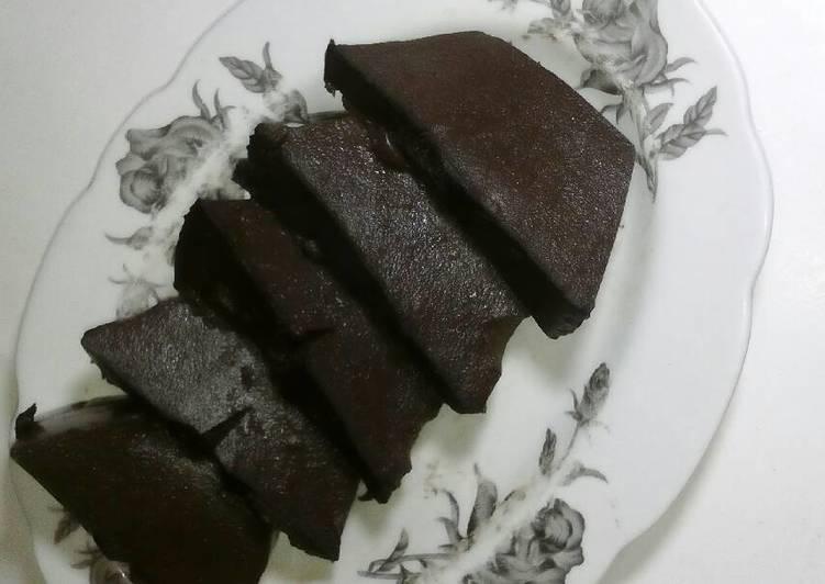 Resep Puding brownies coklat Kiriman dari dewiarimpi