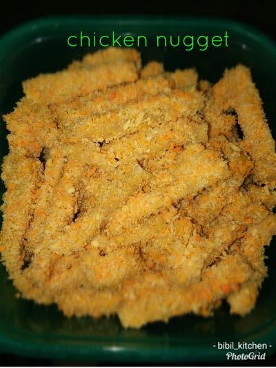 Chicken nugget MPASI 12m+ #MenuSehatAnak