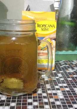 Teh Jahe Lemon (Minuman Hangat)