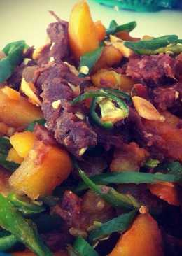 Tumis Daging-Kentang (Beef Potato teriyaki)