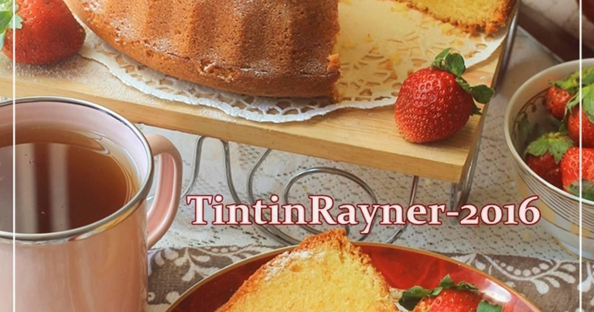 Resep Cake Tapai Keju Special versi Buttercake - Harum bangettt