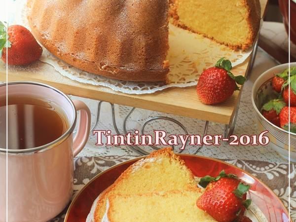 Cake Tapai Keju Special versi Buttercake - Harum bangettt