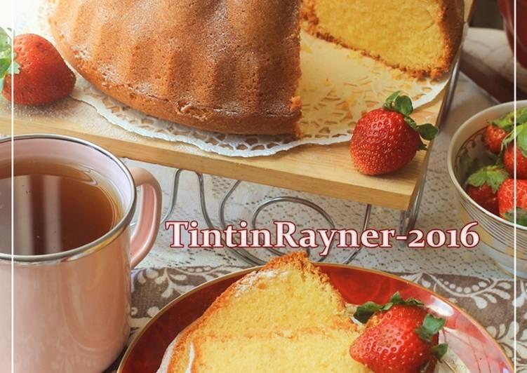 Resep Cake Tape Spesial Jtt: Resep Cake Tapai Keju Special Versi Buttercake