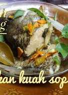 Steam ikan kuah sop