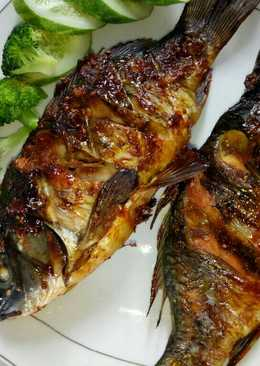 Ikan Mas panggang oven
