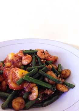 Udang Kacang Panjang (Calorias Por Porcion)