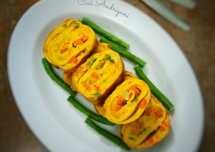 """Korean Egg Roll """"Gyeran Mari"""" #RabuBARU #BikinRamadanBerkesan"""
