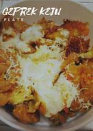Ayam geprek keju