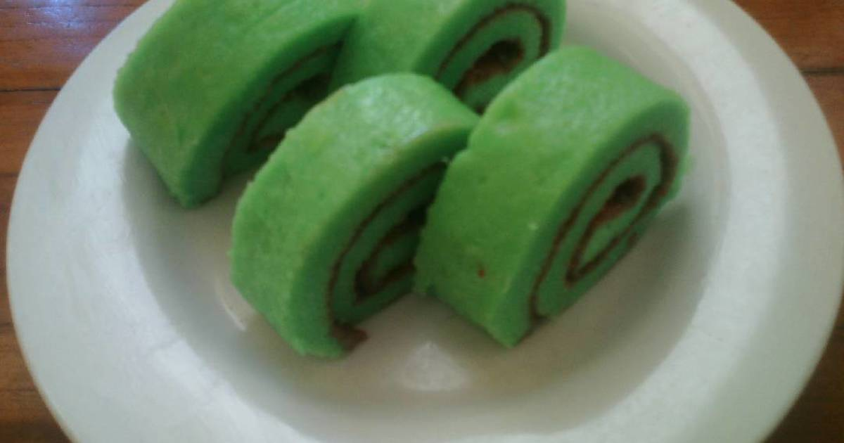Resep Roll Cake Mini Kukus