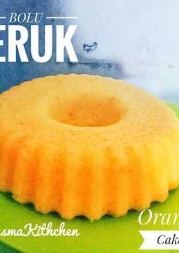 Bolu Jeruk (Orange Cake)