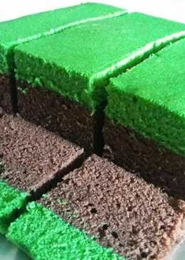 Brownies tape lapis pandan