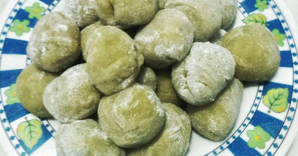 Resep Kue Mochi Jepang: Resep Mochi Pandan Cokelat Oleh Ardhita's Kitchen