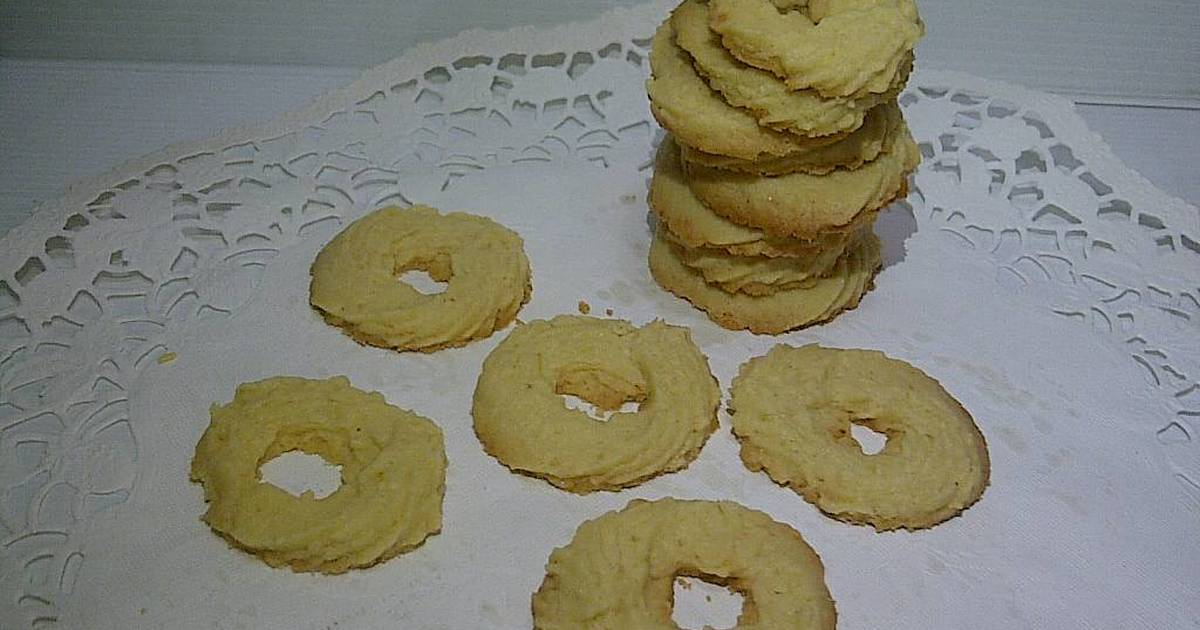 Resep Chessy Butter Cookies