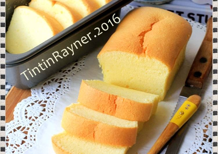 Resep Cake Lemon Tintin Rayner: Resep Condensed Milk COTTON CAKE 5 Bahan Smooth & Silky