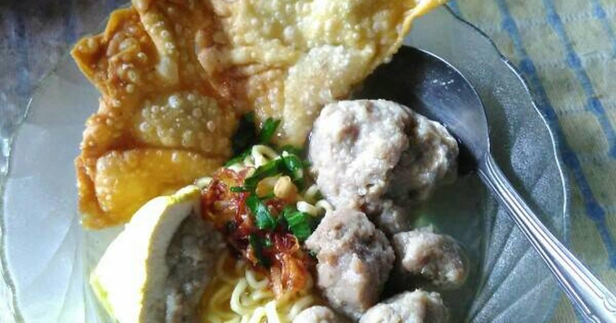 272 resep bakso pangsit enak dan sederhana   cookpad